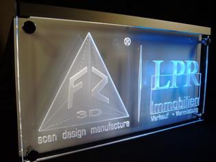 Acryl Leuchtschilder LED