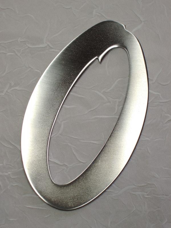 edelstahl hausnummer fritz metall art gmbh. Black Bedroom Furniture Sets. Home Design Ideas