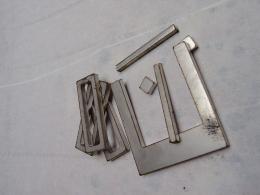 90d5244e17a164 Hier die einzelnen, lasergeschnittenen Teile die zur Handfertigung benutzt  werden. Edelstahl Gürtelschnalle Klassik mit gebürsteter ...