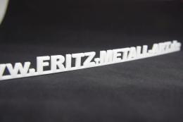 Pauschal Angebot transparenter Acrylglas Schriftzug